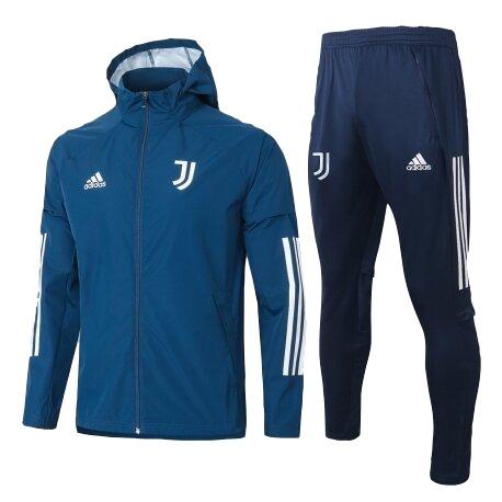 Ювентус костюм с ветровкой синий 2020-2021